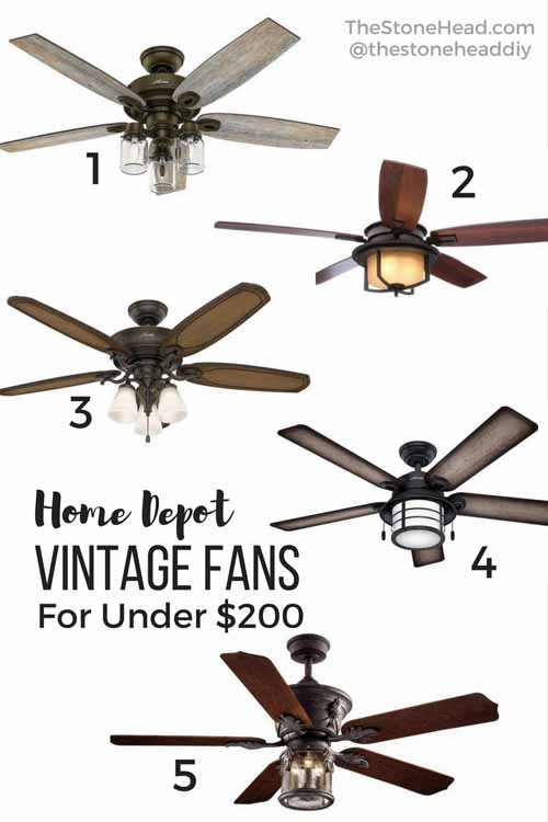 vintage ceiling fans