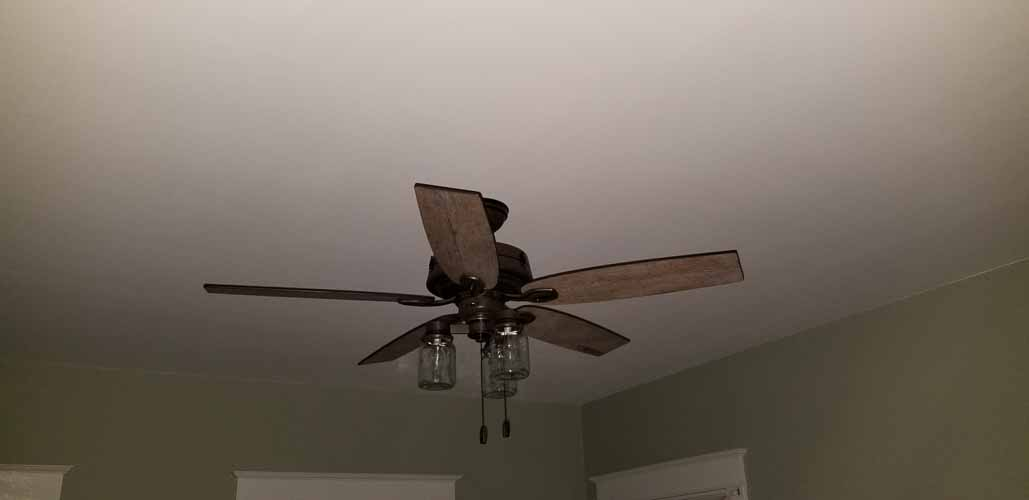 i also promised a picture of the installed ceiling fan we chose it was 1 here are two okayisn update with a final picture when our fixer