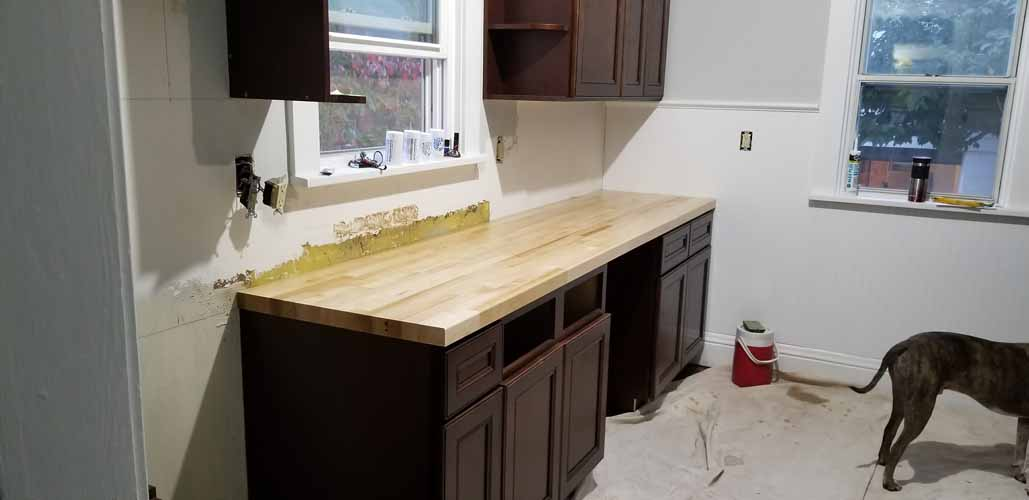 rta cabinets in the fixer upper kitchen