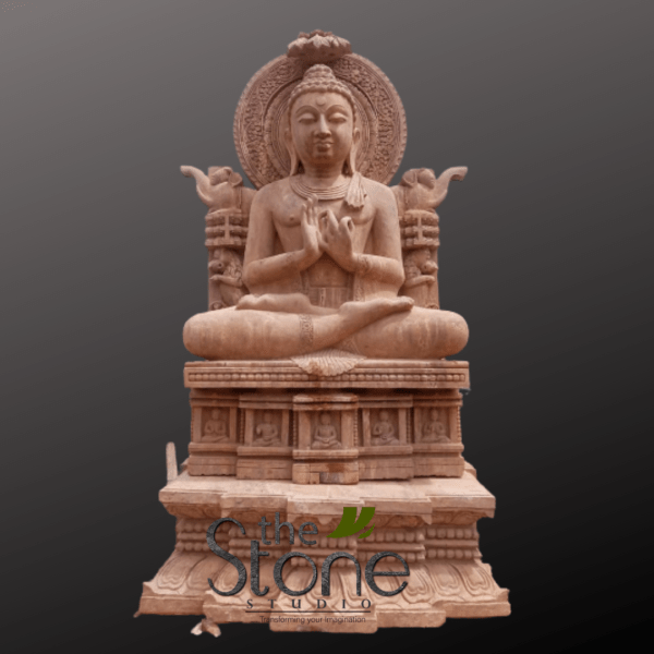 Large Buddha Statue in Sitting Position