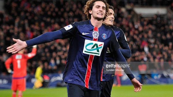 Adrien Rabiot Paris Saint-Germain