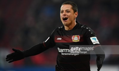 Chicharito Bundesliga Bayer Leverkusen