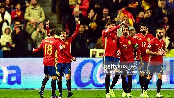 Spain World Cup Qualifier
