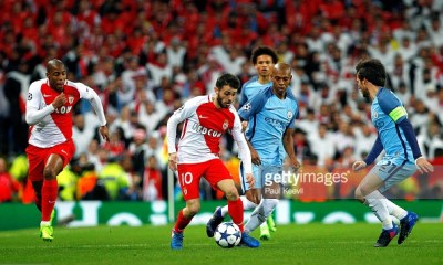 Bernardo Silva Manchester City AS Monaco Champions League