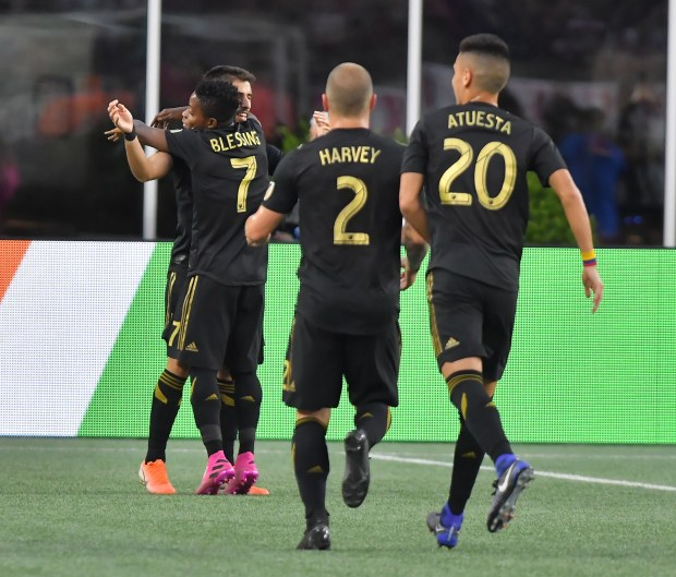 LAFC New England Revolution