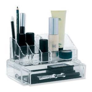 Acrylic Organiser with Drawer
