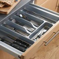 Kitchen drawers, Drawer organisers, drawer inserts, twin ...