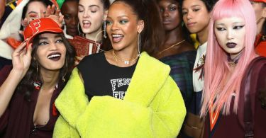 Rihanna Puma Fashion Show