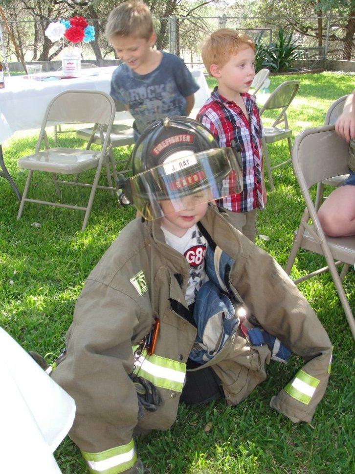 Fireman Birthday Party 10