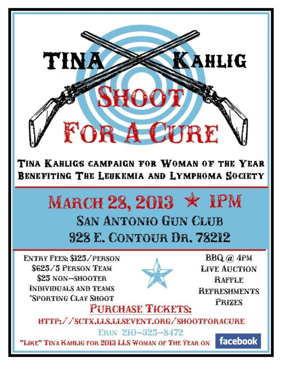 Tina Clay Tournament Flyer