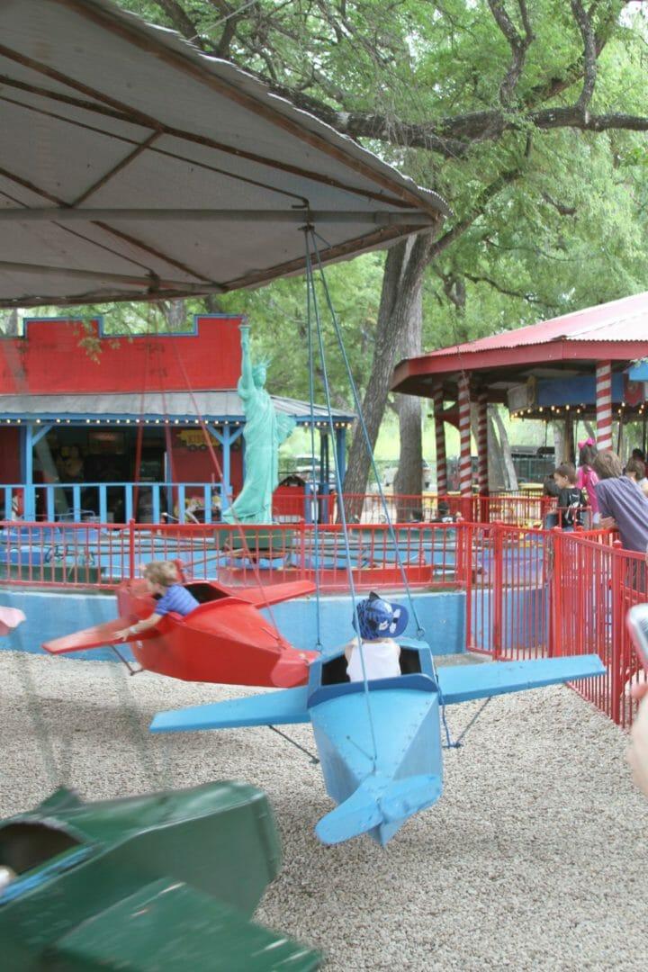 San Antonio Scene Kiddie Park Giveaway The Storibook