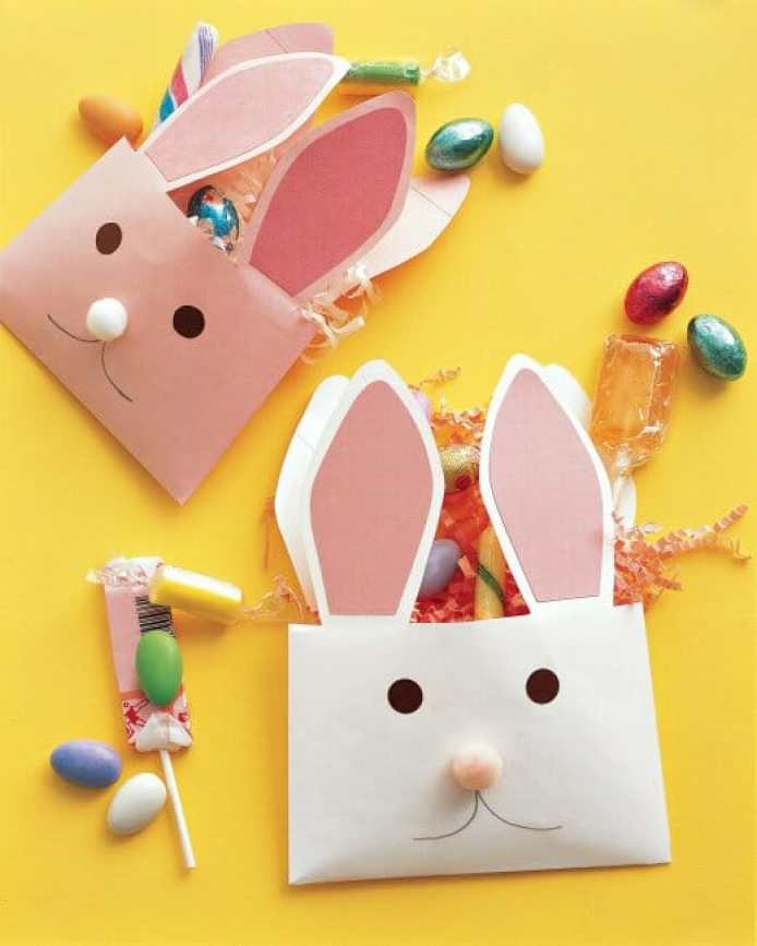 easter bunny envelopes craft