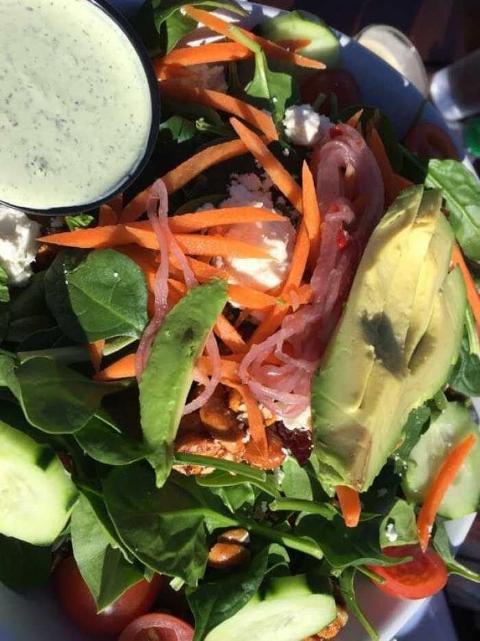 pinach and Avocado Salad
