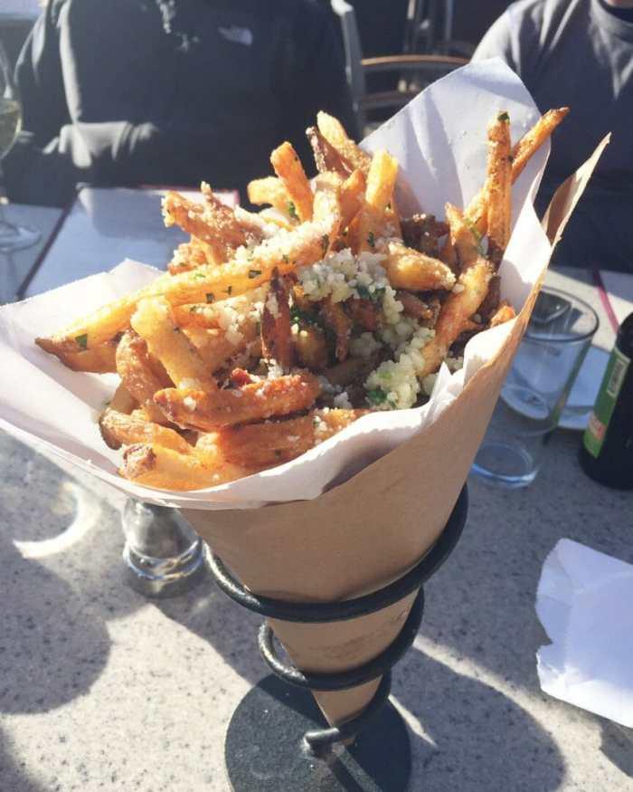 AJAX Tavern Truffle Fries