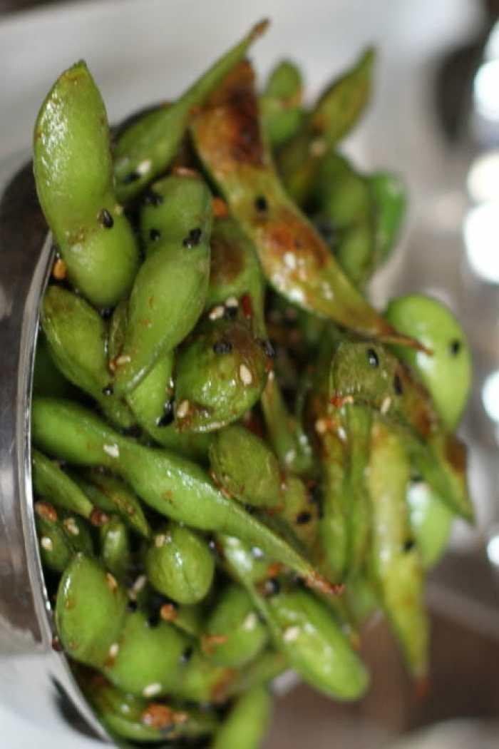 J Bar Spicy Edamame