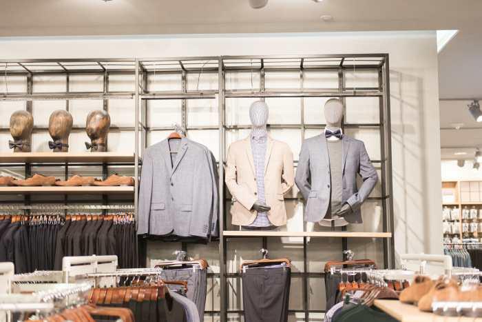 H&M men's department