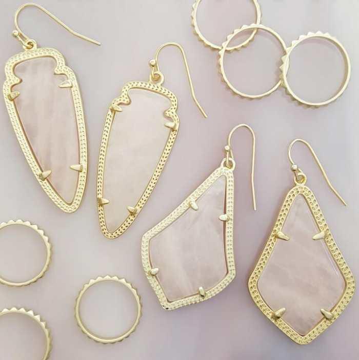 kendra scott pink jewelry