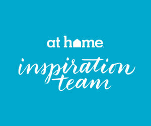 At Home Blogger Button