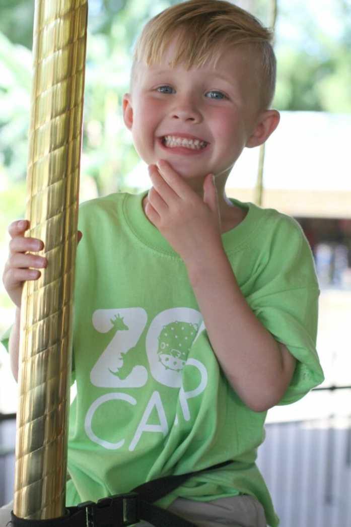 san antonio zoo merry go round