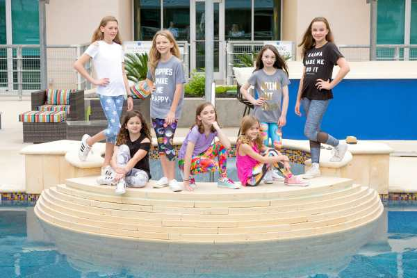 athleisure line for girls