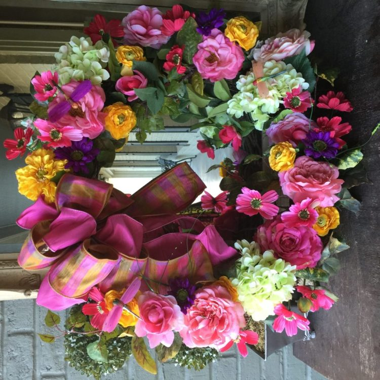 flower wreath san antonio