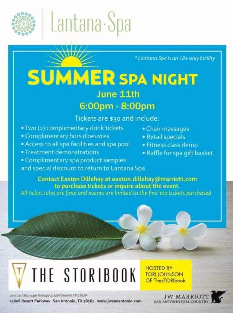 summer spa nights jw marriott