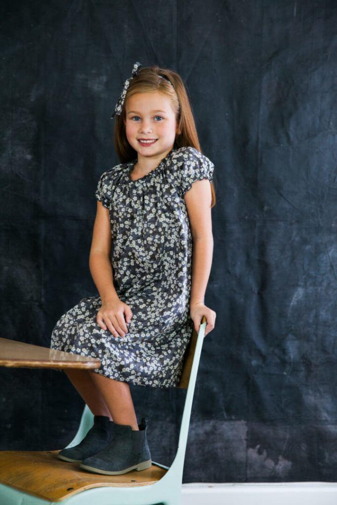 Little Girls back to school style