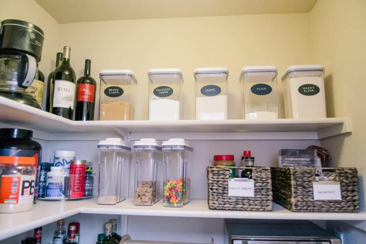 NEAT Method Pantry Organization