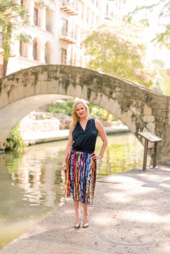 Queen of The San Antonio River Walk