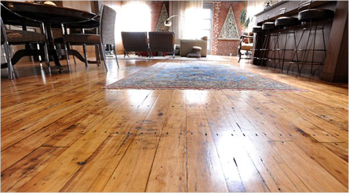 How to fix a squeaky upstairs floor in your home.
