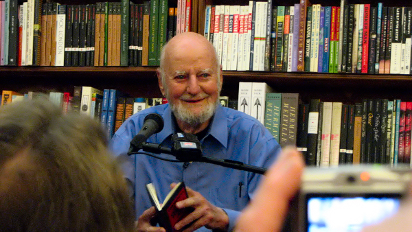 """A 1995 profile of poet Lawrence Ferlinghetti speaks with foresight of """"the revenge of the white man"""" in American politics today, along with the timeless role of the poet and of """"the ageless radical."""""""