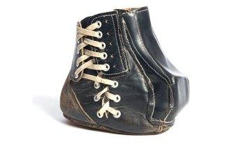 Tom Dempsey's Kicking Shoe I Bullock Texas State History Museum