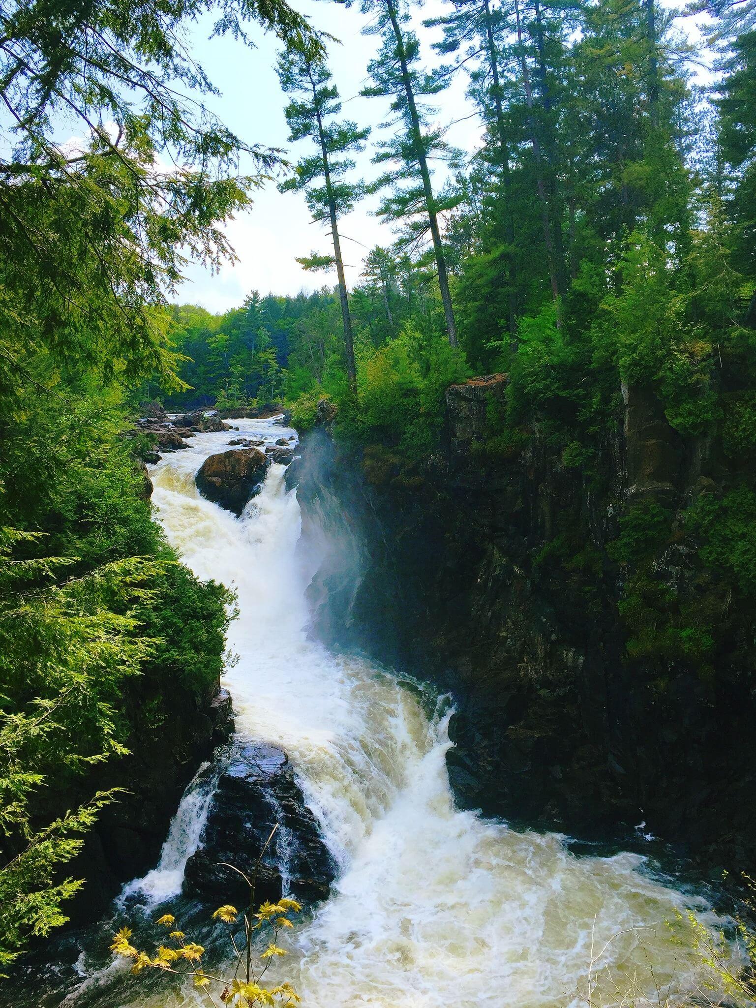 Escaping the ordinary at Dorwin Falls