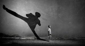 Junge Karate