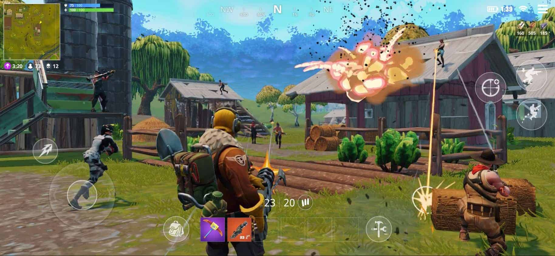 Fortnite Battle Royale Mobile Now Available Globally The