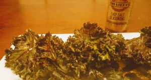 Kale Chips and Tin Lizzy's Seasoning