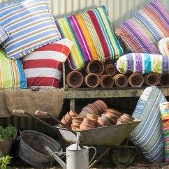 Sofa Pads Uk Print Fabric Sofas Large Floor Cushions The Stripes Company