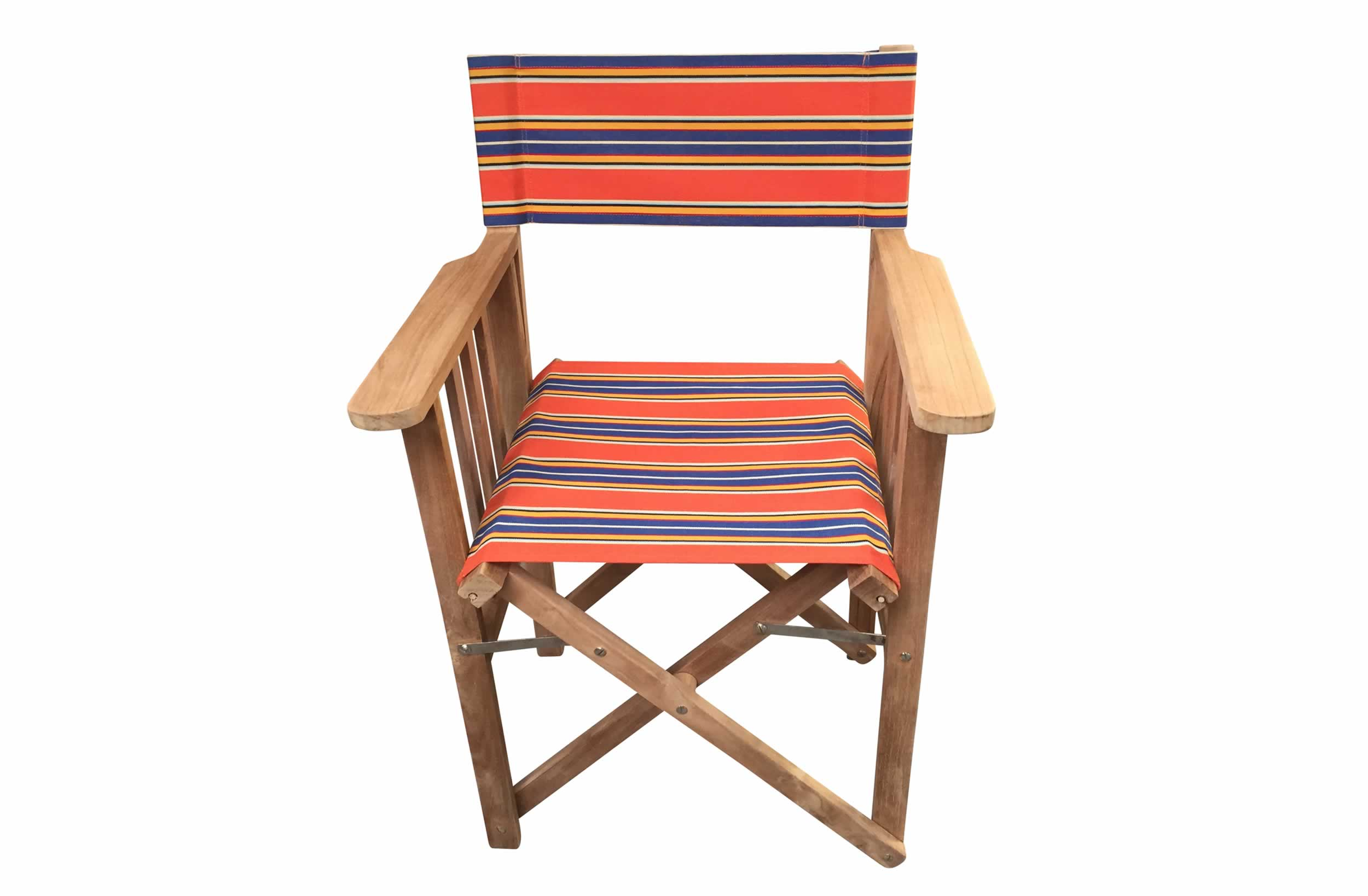 Wooden Folding Director Chair Jazz Stripe The Stripes