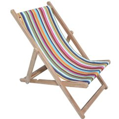 Striped Directors Chairs Navy Blue Adirondack Rainbow Deckchairs   Wooden Folding Deck Paintballing Stripes The ...