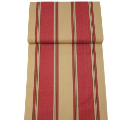 Directors Chair Covers Uk Small Red And Beige Stripe | The Stripes Company