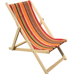 Striped Directors Chairs Sling Folding Orange Stripe Deckchair Canvas - Skipping   The Stripes Company United States