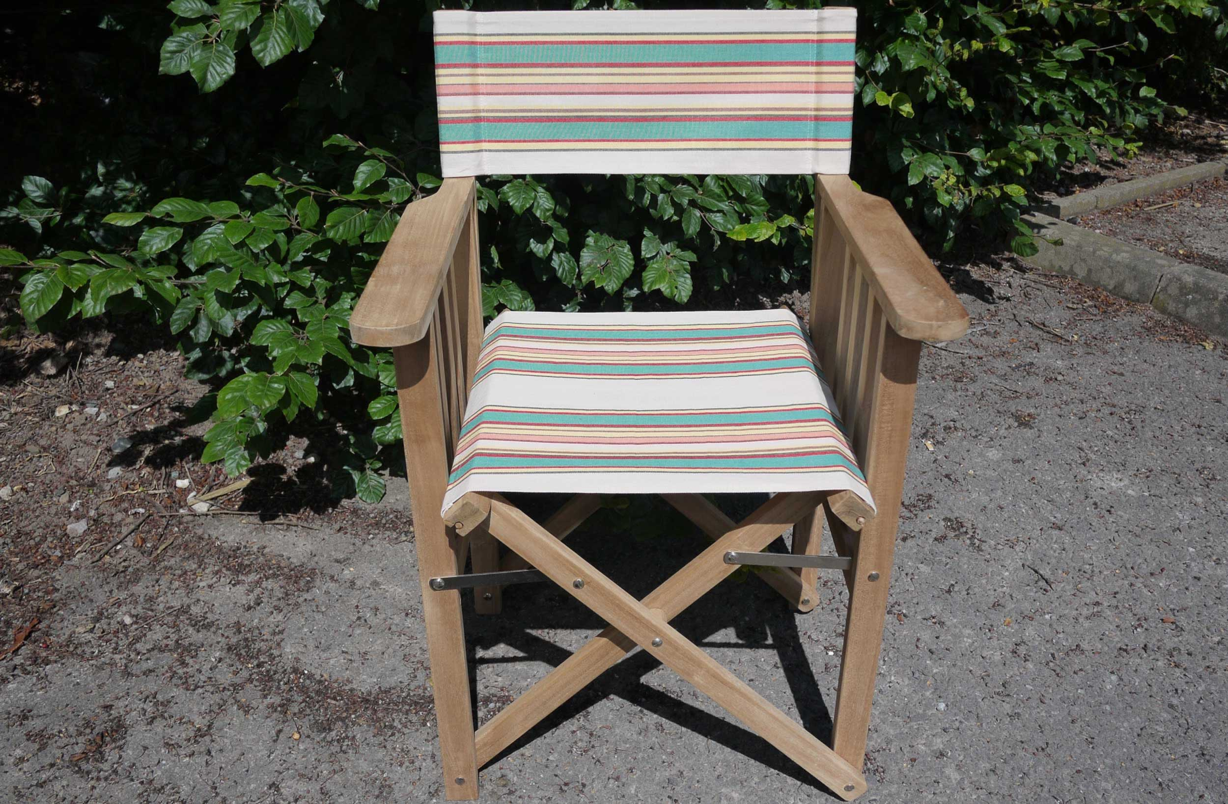 striped directors chairs floral wingback chair vintage the stripes company united states