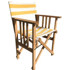 Director Chair Covers In Stores Round Back Living Room Chairs Yellow And White Stripe Replacement The Directors Shot Put