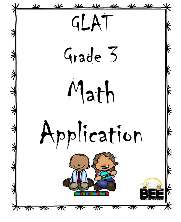 GLAT Grade 3 Math Application