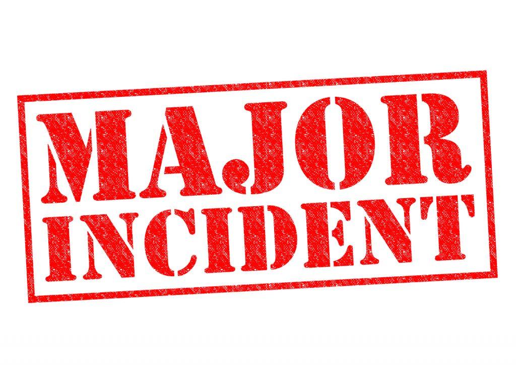 major incident patients the