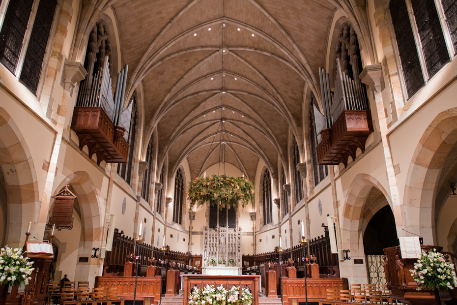 Sewanee Tennessee Wedding at All Saints Chapel and