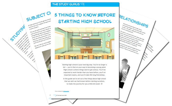 5 things to know before starting high school