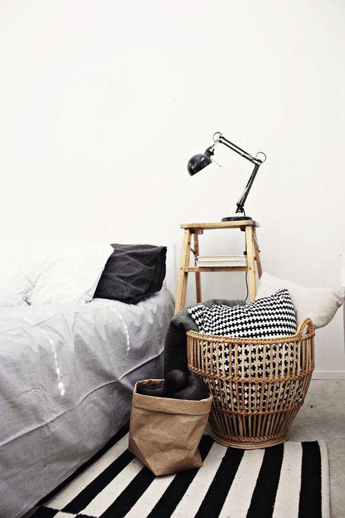 Vloerkleed in de slaapkamer  THESTYLEBOX
