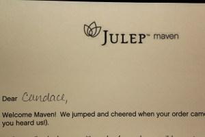 021 Julep Maven