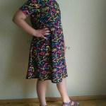 Sukienka kleksy